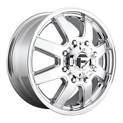 Fuel Wheels Maverick D536 Dually - Chrome Rim