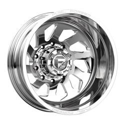 Fuel Wheels Mono DD39 Dually Rear - Polished Rim