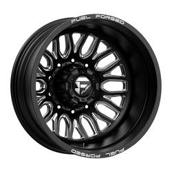 Fuel Wheels Mono DB66 Dually - Matte Black Milled Rim