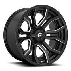 Fuel Wheels Fuel Wheels D711 Rage - Gloss Black Milled
