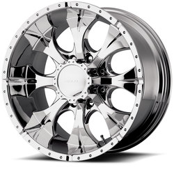 Helo Wheels HE791 Maxx - Chrome Rim - 16x10