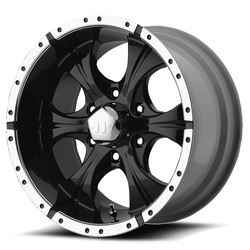 Helo Wheels HE791 Maxx - Gloss Black Machined Rim - 16x8