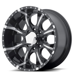 Helo Wheels HE791 Maxx - Gloss Black Milled Rim - 18x9