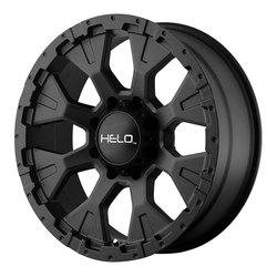 Helo Wheels Helo Wheels HE878 - Satin Black - 17x9
