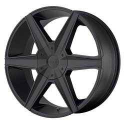 Helo Wheels HE887 - Satin Black Rim - 24x9.5