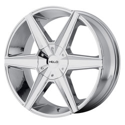 Helo Wheels HE887 - Chrome Rim - 24x9.5