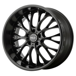 Helo Wheels Helo Wheels HE890 - Satin Black - 20x8.5