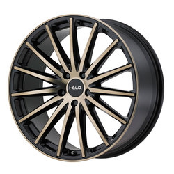 Helo Wheels HE894 - Satin Black w/Dark Tint Clear Coat