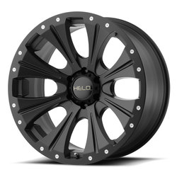 Helo Wheels Helo Wheels HE901 - Satin Black - 17x9