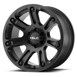 Helo Wheels Helo Wheels HE904 - Satin Black - 17x9