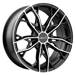 Helo Wheels HE907 - Gloss Black Machined Rim - 17x7