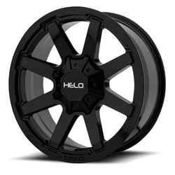 Helo Wheels Helo Wheels HE909 - Gloss Black - 17x9