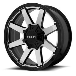 Helo Wheels HE909 - Gloss Black Machined