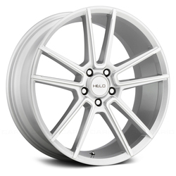 Helo Wheels HE911 - Silver Machined