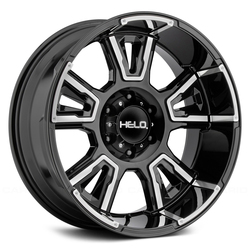 Helo Wheels HE914 - Gloss Black Machined