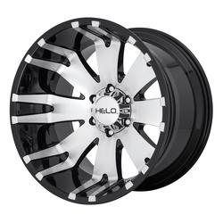 Helo Wheels HE917 - Gloss Black/Machined Rim - 20x10