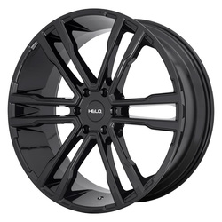 Helo Wheels HE918 - Gloss Black Rim - 22x9.5