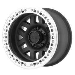 KMC Wheels KM229 Machete Crawl - Satin Black Machined Bead Ring Rim