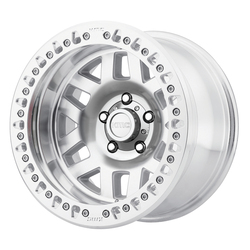 KMC Wheels KM229 Machete Crawl - Machined/Face Black Rim