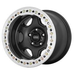 KMC Wheels KM233 Hex - Satin Black Rim
