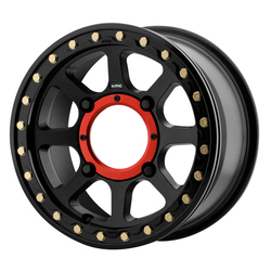 KMC Wheels KS234 Addict 2 Beadlock - Satin Black Rim