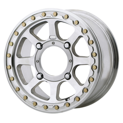 KMC Wheels KS234 Addict 2 Beadlock - Machined Rim