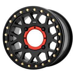 KMC Wheels KS235 Grenade Beadlock - Satin Black Rim