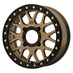 KMC Wheels KS235 Grenade Beadlock - Satin Bronze Rim