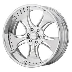 KMC Wheels KM403 - Polished Rim - 26x9.5