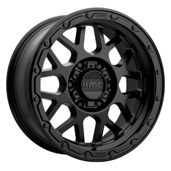KMC Wheels KM535 Grenade Offroad - Matte Black Rim