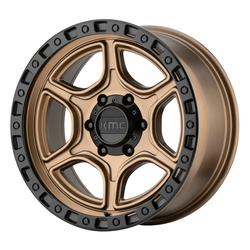 KMC Wheels KM539 Portal - Satin Bronze Satin Black Lip Rim