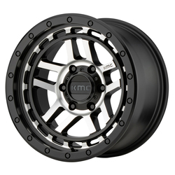 KMC Wheels KM540 Recon - Satin Black Machined Rim