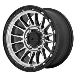 KMC Wheels KMC Wheels KM542 Impact - Satin Black/Machined