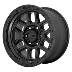 KMC Wheels KMC Wheels KM544 - Satin Black / Gloss Black