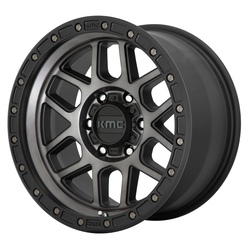 KMC Wheels KMC Wheels KM544 - Satin Black/Gray Tint