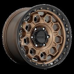 KMC Wheels KM545 Trek - Matte Bronze With Black Lip Rim