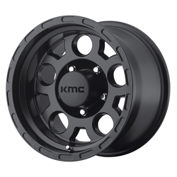 KMC Wheels KM522 Enduro - Matte Black Rim - 15x9