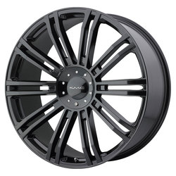 KMC Wheels KMC Wheels KM677 D2 - Gloss Black