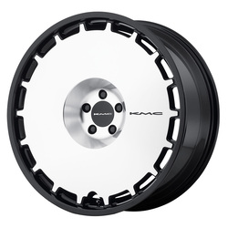 KMC Wheels KM689 Skillet - Satin Black Brushed Face Rim - 24x9.5