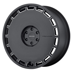 KMC Wheels KM689 Skillet - Satin Black Milled Rim