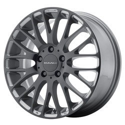 KMC Wheels KM693 Maze - Pearl Gray w/Gloss Black Face