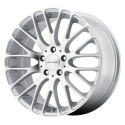 KMC Wheels KM693 Maze - Silver w/Machined Face