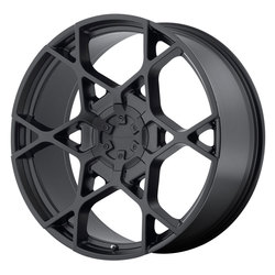 KMC Wheels KMC Wheels KM695 Crosshair - Satin Black