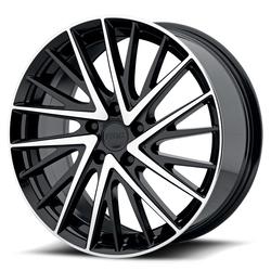 KMC Wheels KM697 Newton - Gloss Black Machined