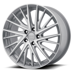 KMC Wheels KMC Wheels KM697 Newton - Silver Machined
