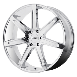 KMC Wheels KM700 Revert - Chrome Rim - 24x9.5