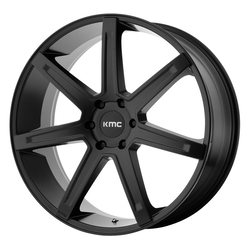 KMC Wheels KM700 Revert - Satin Black Rim - 24x9.5