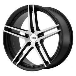 KMC Wheels KMC Wheels KM703 Monophonic - Satin Black Brushed