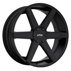 KMC Wheels KM704 District Truck - Satin Black - 24x9