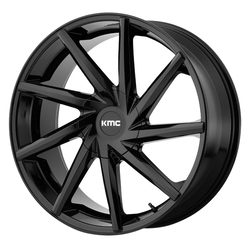 KMC Wheels KMC Wheels KM705 Burst - Gloss Black
